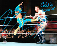 WWE SHEAMUS AND SIN CARA HAND SIGNED AUTOGRAPHED 8X10 PHOTOFILE PHOTO WITH COA