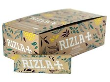 50 Booklets Of Rizla Natura Cigarette Rolling Papers without chlorine FULL BOX