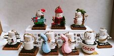 S'mores Marshmallow Snowman Holiday Ornament Ganz You Pick