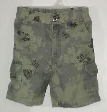 CALVIN KLEIN Size 18 Months Green Camouflage Cargo Shorts
