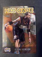 2001-02 Topps Chrome #MG1 Allen Iverson - Mad Game Philadelphia 76ers HOF. (K14)