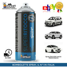 Spray Fiat Alfa Lancia Jeep 296/A Bianco Ghiaccio,Apline Divino 400ml !!LUCIDO!!