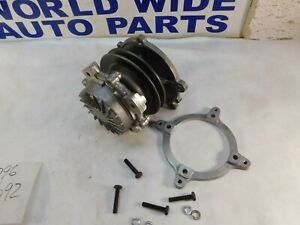 "for Datsun Nissan 510 720 200SX Water Pump with Clutch 4"" & 5"" Fan 1975-1989"