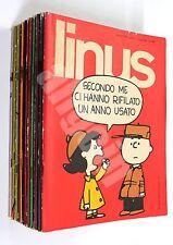 LINUS ANNATA COMPLETA 1970 (Anno VI/6) 12 Numeri (n. 58-69)