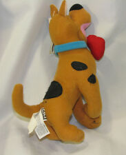 "PLAY BY PLAY STUFFED PLUSH SCOOBY DOO I LOVE YOU DOLL TOY 9"" NEW HEART"