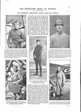 WWI Pilots US Air Force Victor Chapman,Rockwell,Alan Seeger,Prince  ILLUSTRATION