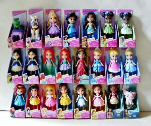 Disney Princess Mini Toddler 3 Inch Posable Doll - Choose Your Favourite