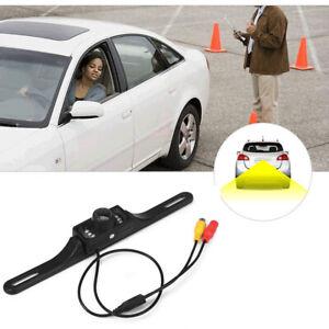 Car Backup Camera Reverse Rear View Parking Night Vision Waterproof CMOS 7 LED