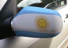 Voiture Rétroviseur Chaussettes drapeaux, coques, Haut les drapeaux! Argentine