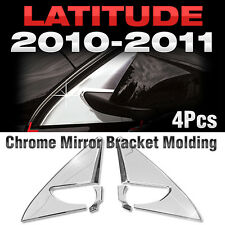 Chrome Mirror Bracket Garnish Molding B423 For RENAULT 2010-2011 Latitude / SM5