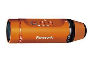 New Panasonic Wearable camera Orange HX-A1H-D