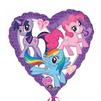 "MY LITTLE PONY 18"" HEART Foil Helium BALLOON Party Children Decoration"