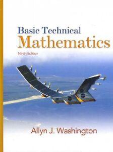 Basic Technical Mathematics + Mymathlab Student Access Code Inside