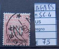 FRANCOBOLLI ITALIA REGNO USATI S.C. N°4 (A6885)