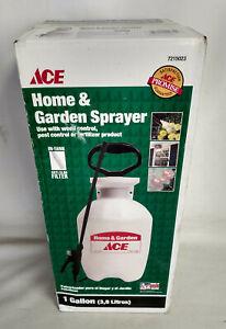 "NEW Ace Home & Garden 1 Gallon Sprayer with Anti-Clog Filter, 34"" Hose, 12"" Wand"
