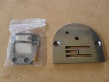 Feed Dog and Throat Plate for Industrial PFAFF 138 Zig Zag