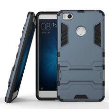Azul Oscuro Resistente Tipo Armadura duro híbrido nuevo caso cubierta soporte para varios teléfonos