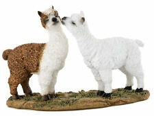 Miniature Dollhouse FAIRY GARDEN - Kissing Llamas - Accessories