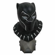 FREE SHIPP Legends in 3D Black Panther Movie 1:2 Scale Resin Bust DIAMOND SELECT