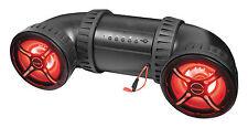 BAZOOKA ATV TUBE SOUND SYSTEM 450 WATTS 8 IN SPEAKERS BLUETOOTH LED & REMOTE