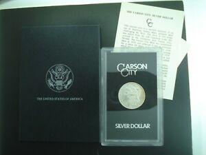 1884-CC Morgan Silver Dollar $1 Coin in GSA Holder w/ Box & COA **NO RESERVE**
