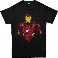 Iron Man T-Shirt, Avenger Iron Man Birthday Gift Unisex Adult & Kids Tee Top