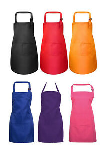 Professional Quality Chef / Cooks / Butchers / BBQ Apron - available in 6 colour