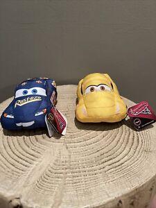 Disney Cars 3 Fabulous Lightning McQueen And Cruz Ramirez Talking Plush