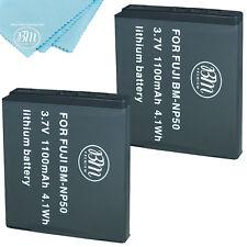 BM 2X NP-50 Batteries for FujiFilm Instax SQ10, FinePix XF1, XP100, XP150, XP170