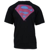 New Era Men's DC Comics Superman Logo S/S Tee (Medium)