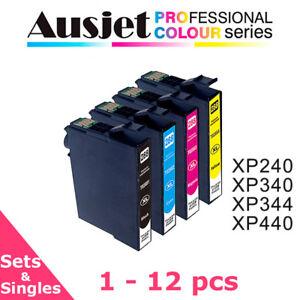 Ausjet 288XL non-OEM Ink cartridge Set for Epson Home XP240,XP340,XP344,XP440