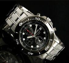 Reloj SEIKO hombre SNA791P1 con alarma cronografo y resistente al agua 100m
