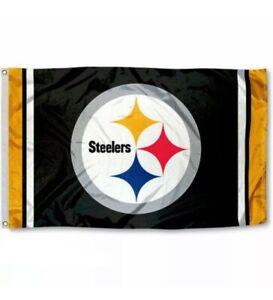 Pittbutgh Steelers Flag Banner 3x5 Ft NFL Football Super Bowl Championship