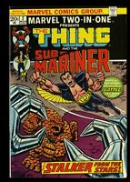 Marvel Two-In-One #2 VF 8.0 Comics Thing Sub-Mariner!