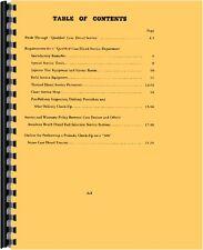 Case 500 Tractor Service Manual