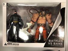Batman Arkham Asylum Batman vs Bane Figure Set DC Collectibles 2013