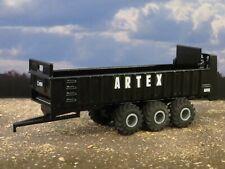 1/64 Custom Artex CB1200 Manure Spreader Vertical Beater Black