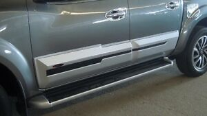 BODY CLADDING PAINTED FOR NISSAN FRONTIER NAVARA NP300 2014 - 2017