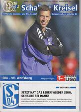 Programm   FC Schalke 04 - VfL Wolfsburg    1. Bundesliga Saison 2002/03