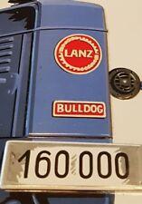 Blechschild Lanz Bulldog Traktor