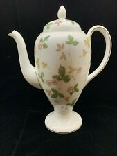 New ListingWedgwood Wild Strawberry Coffee Pot