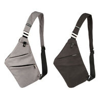 Anti-theft Men's Casual Sling Bag Camping Travel Crossbody Shoulder Chest Pack