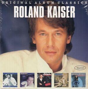Roland Kaiser -  Original Album Series Vol.2 (5 CDs, Original verschweißt,NEW)