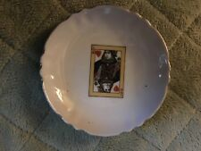 4   Inch   Decorative Queen of hearts tea cup plate