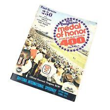 1971 Daytona Medal of Honor Firecracker 400 Nascar Program Magazine Bobby Isaac