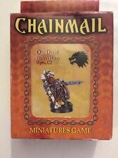 Dungeons & Dragons: Chainmail - Orc Druid Drazen's Horde, Miniatures Game