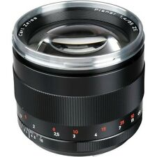 New Carl ZEISS PLANAR T * 85mm F1.4 ZE CANON EF EOS Lens Made in Japan