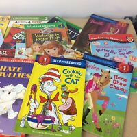 Lot of 10 I Can Read Child Beginning Readers Learn to Kids Books MIX UNSORTED
