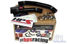 HPS Reinforced Silicone Radiator Coolant Hose Kit For 06-10 Suzuki LTR450 Black