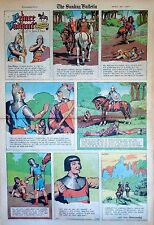 Prince Valiant by Hal Foster - full page color Sunday comic - April 30, 1967